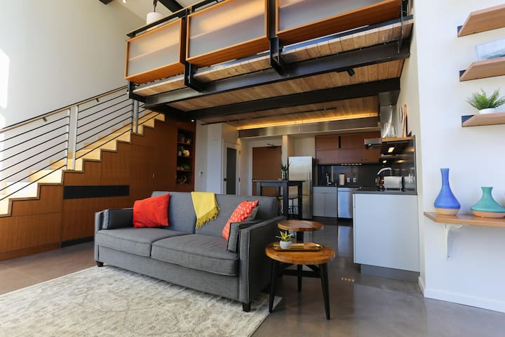 Elegant Loft Apartment in Heart of Seattle SLU - Seattle - Loft