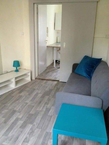 Appartement cosy de 40m² tout équipé - Mulhouse - Apartament