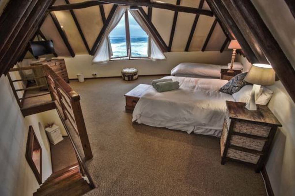 Well appointed upstairs bedroom