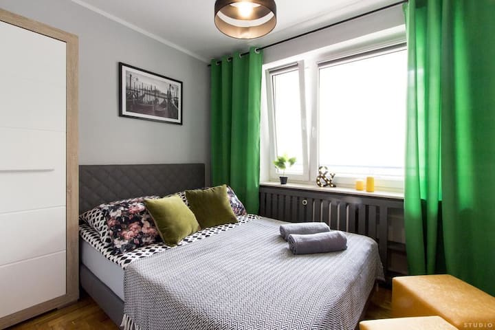 Hoża Street Central Warsaw Room ClickTheFlat (5)