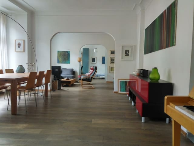 Spacy artists´appartement