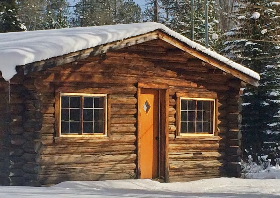 The Cabin in winter