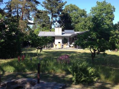 Summer cottage near beach and forest - Vig - Blockhütte