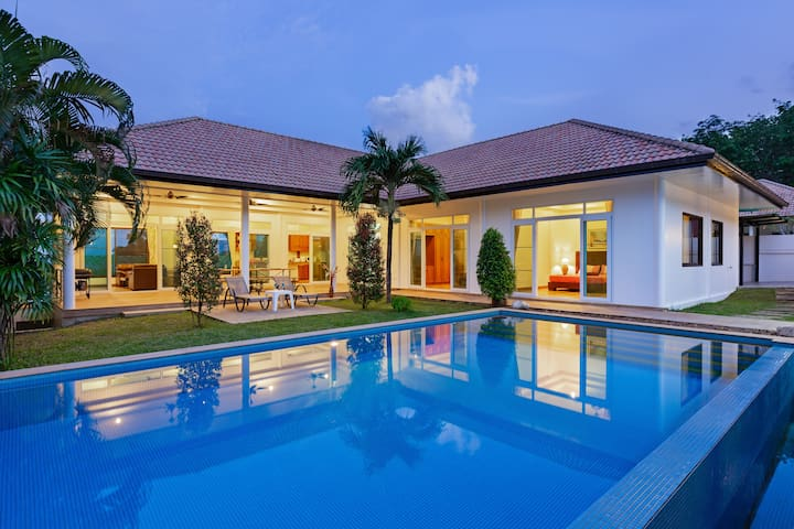 Wonderful Seaview & Huge Pool Villa߷4 bedrooms