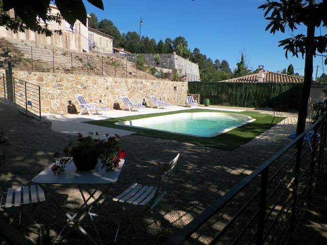 petit paradis en cevennes - Bordezac - Villa