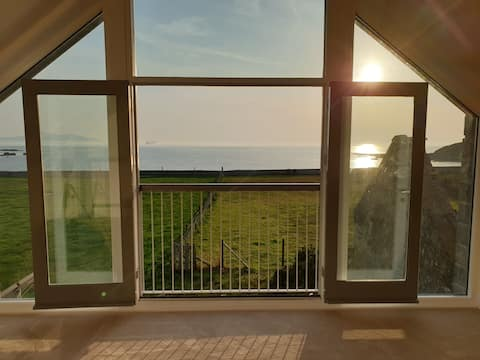 New Barn conversion with sea views on Anglesey