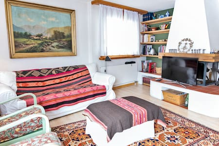 Cosy 120sqm apart close to StMoritz - Bever
