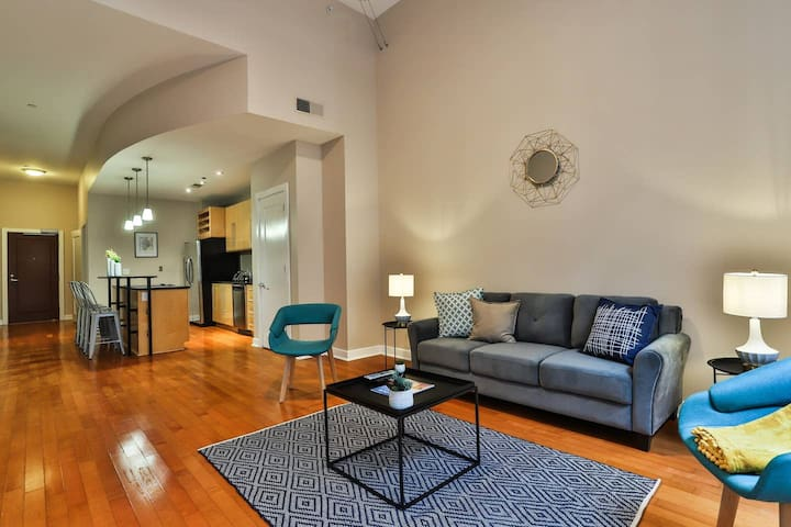 Stunning + Historic 2BR Apt in Downtown St. Louis