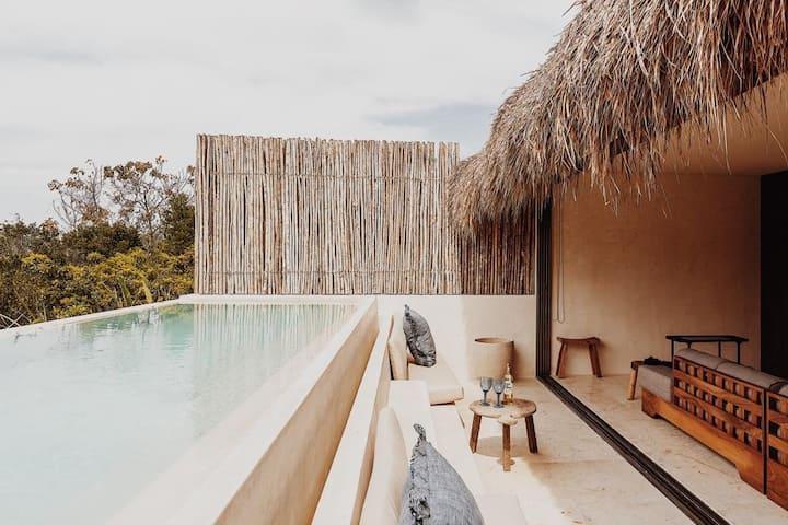 ★Jungle Penthouse in Aldea Zama ★ Private Pool ★