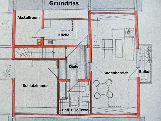 Kurpfalz - Urlaub  - Ketsch - Wohnung