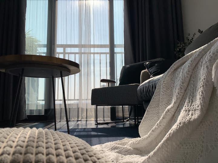 【03公寓】五象新区良庆大桥旁近方特万达茂北欧现代简约风格公寓