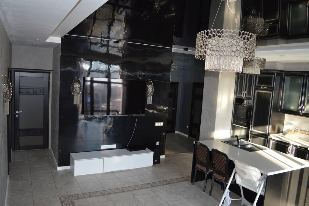 Зал-кухня