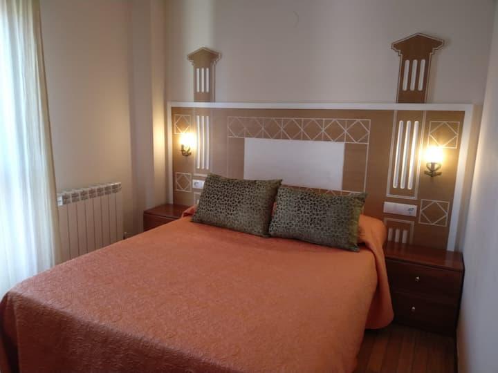 Céntrico apartamento en Noja con acceso a spa.