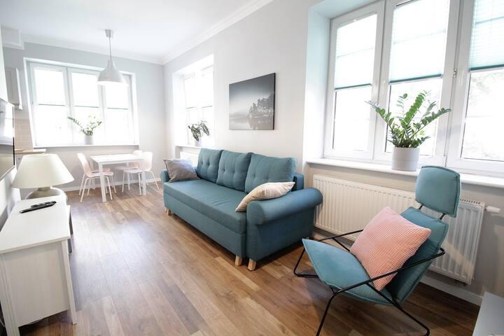 MALIBU  - Apartament Gdynia Śródmieście 2 pokoje