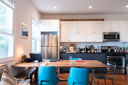 Room with private bathroom, rooftop - Brooklyn - Apartment