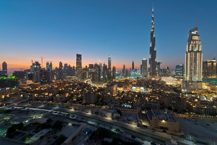 360° 2BR Burj Khalifa View-5min Walk to Dubai Mall