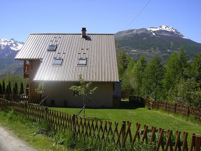 Maison T5, superbe vue panoramique - Briançon - Rumah