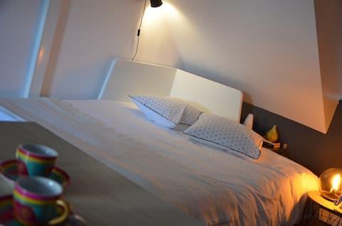 Studio tout confort quartier historique à Blois.