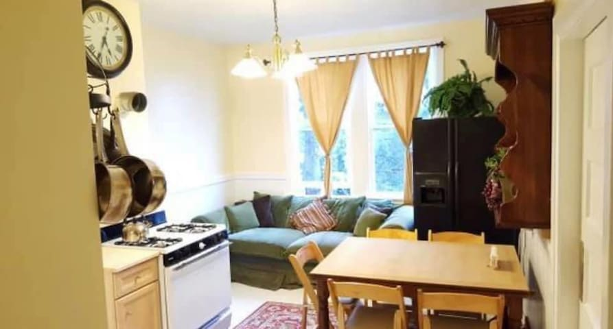 Cole valley steps to Golden Gate park! Privateroom