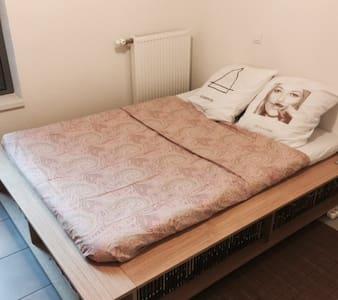 Chambre privative lit 2 places - Appartement