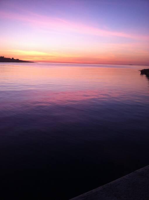 Sunset In Xlendi