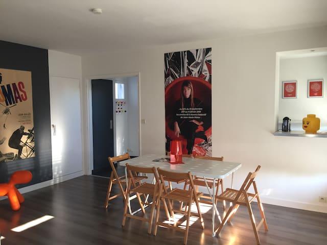 Albi centre, Appartement climatisé, Wifi & Netflix