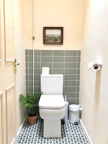 The separate toilet room