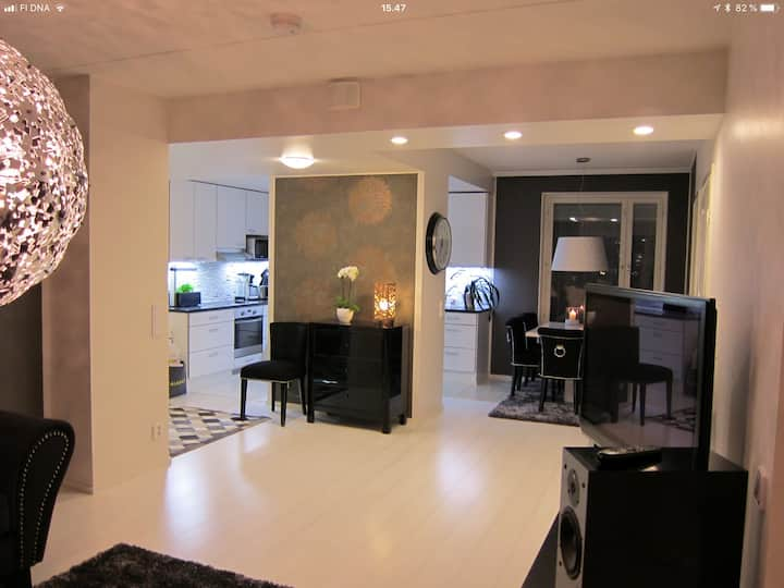 Luxury A/C two bedroom apartment Very much design!