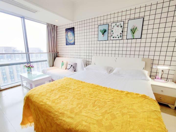 【美宿】48克拉高层全景落地窗观景公寓