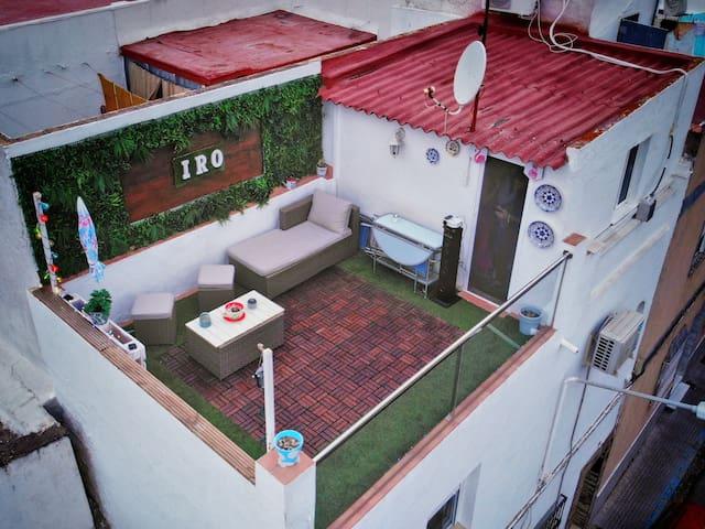 La casa de las vistas y la comodidad en Chiclana