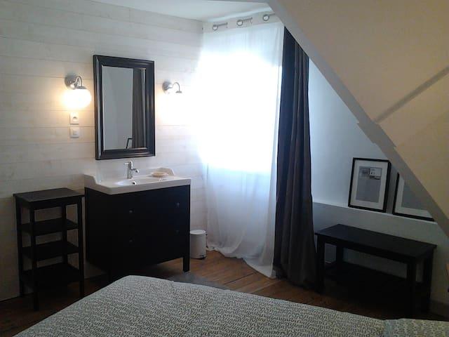 Chambre dans maison de caractère - Jonzac - Huis