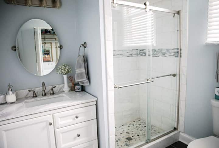 Private Entrance into Master Suite With Bathroom!
