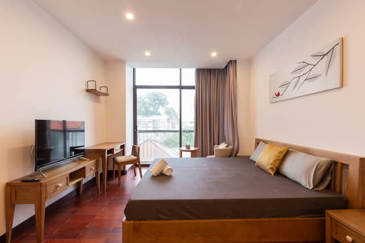 New! Quiet Studio Walking to Central HCMC