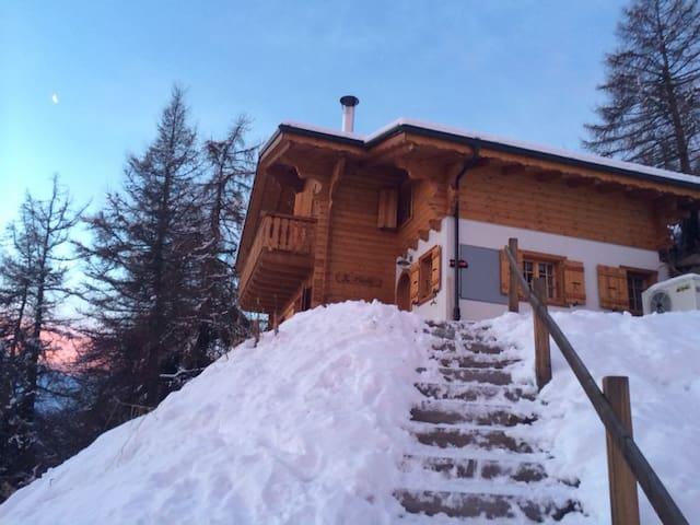Chalet Stickie, Les Masses1500m Valais, Swiss Alps - Hérémence - Rumah