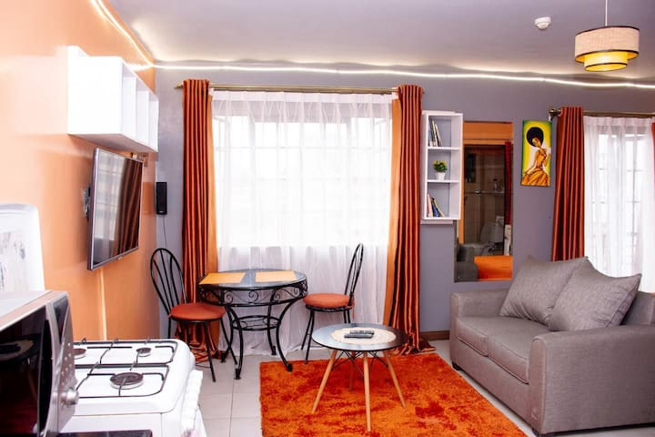 EXECUTIVE STUDIO APARTMENT- MVULI SUITES NEAR town