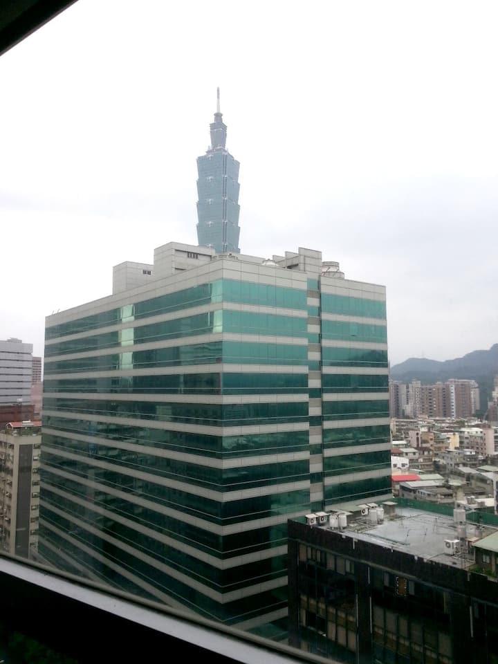 擁有台北101美景的房子