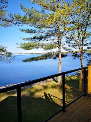"Enjoy a ""million dollar view"" of Georgian Bay."
