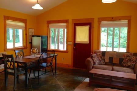 Studio Cabin shares Six Acres with our Farmhouse - Clinton
