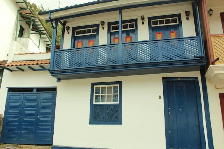 Quarto no centro histórico de Ouro Preto