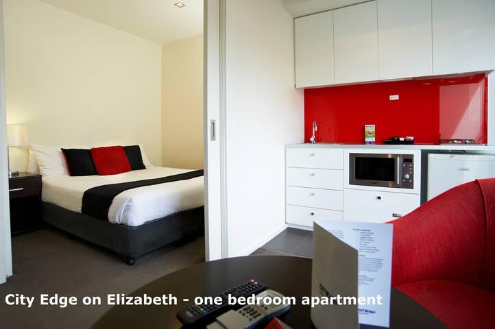 City Edge - cozy one-bedroom apartment in CBD#7