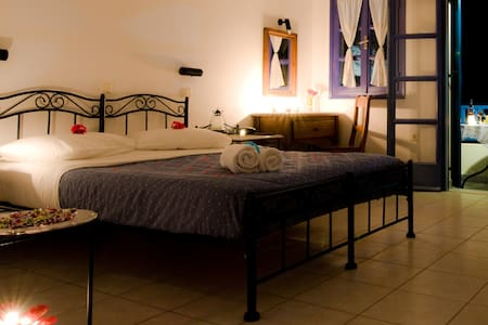 Cycladic Style Double Room - Perissa