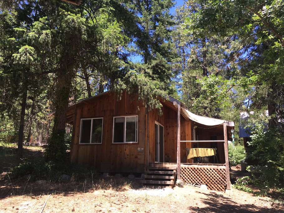maples cabin in coffee creek cabins for rent in coffee