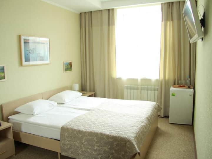 """Standard double with combined bed. Hotel """"Silver Key"""""""