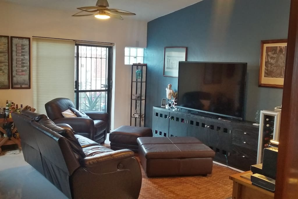 Cozy living room area...Watch a movie to relax???