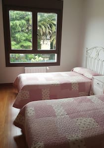 TWIN BEDROOM WITH ENSUITE 10 MINS FROM BILBAO! - Bizkaia - Pis