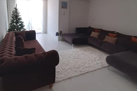A spacious summer house 6 km from the sea.
