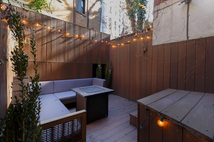 West Village Studio with Private Heated Patio