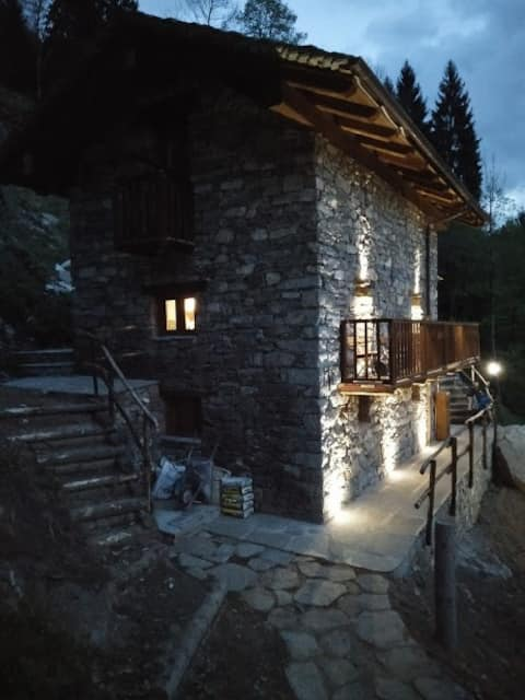 Cosy chalet in Valsesia at the foot of Monte Rosa.