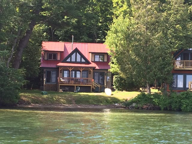Lakefront Home with Beach/Dock on Lake George - LG
