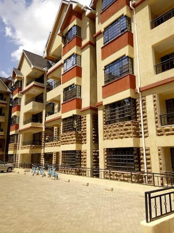 2 bedroom fully furnished apartment, Naivasha Road - Nairobi